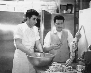 Louis Sboukis in the Kitchen